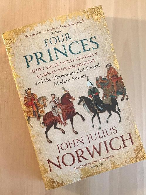 Four Princes, Henry VIII, Francis I, Charles V ...