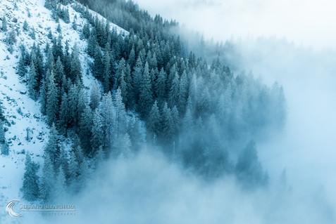 Eisige Luft