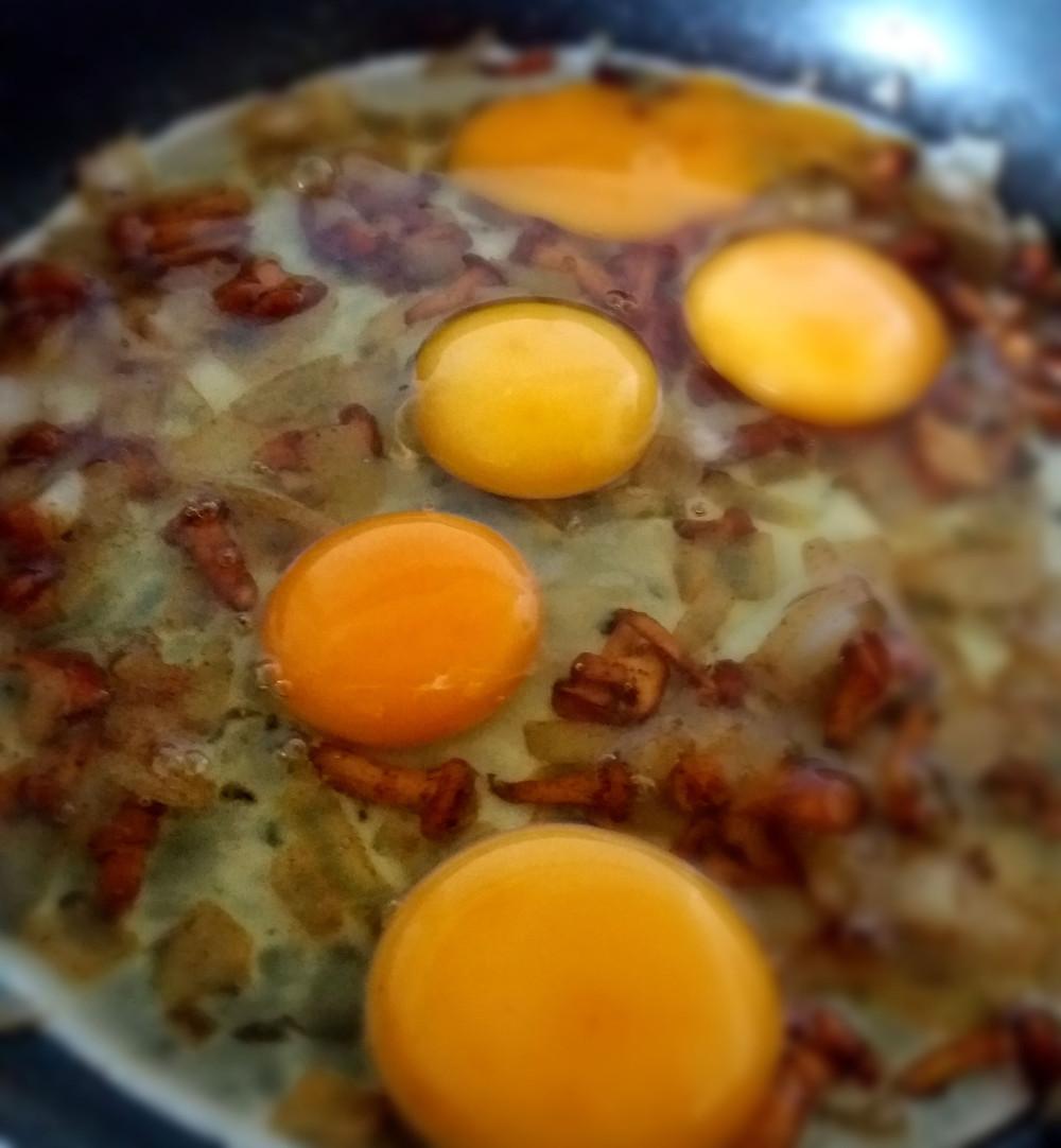 jajka na patelni