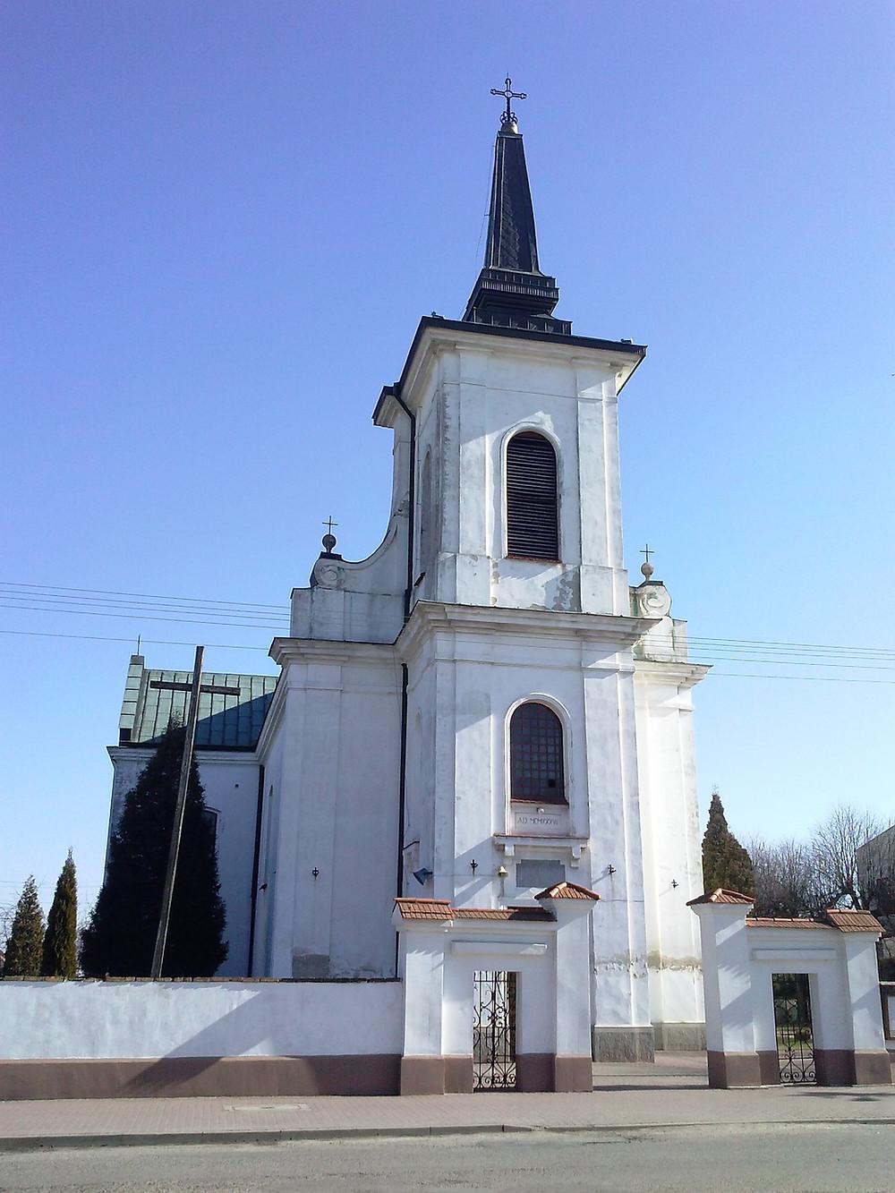 kościół Belsk Duży