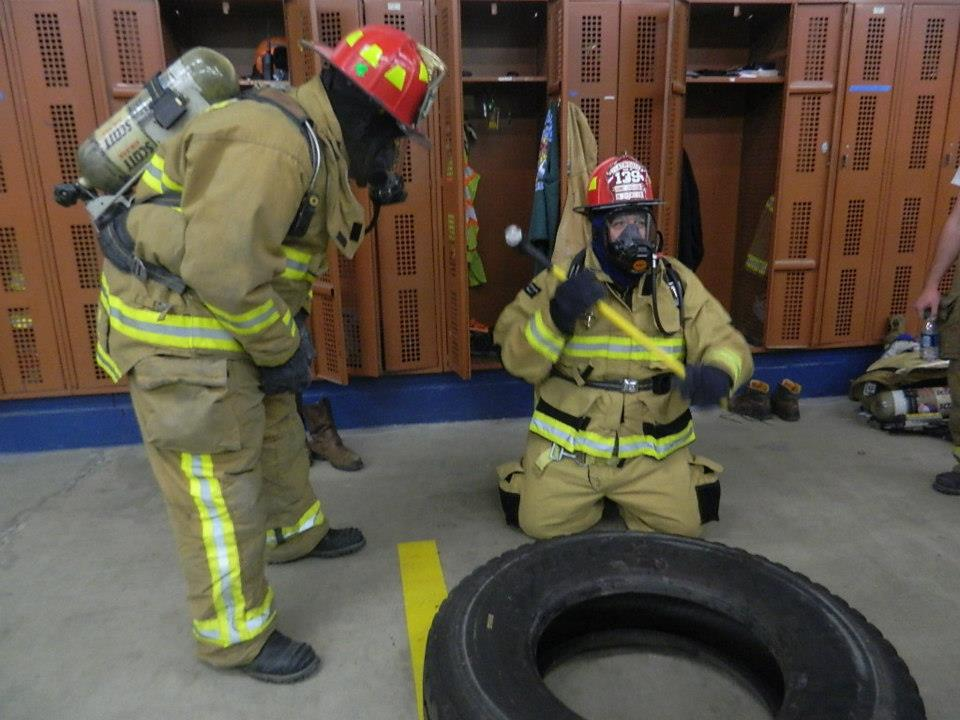 Firehouse training.