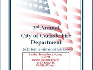 9/11 Remembrance Service