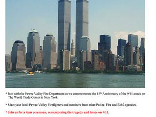 PeweeValley FD 9/11 Memorial