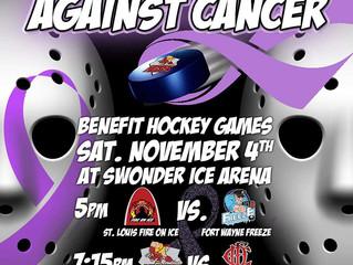 Hockey Face-Off Against Cancer