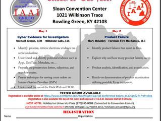 Arson Investigators Conference