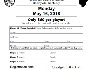 Shelby Fire District Gold Scramble