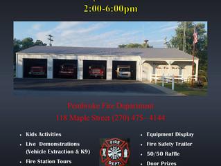 Pembroke FD Family Fire Safety Night