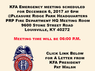 KFA Emergency Meeting