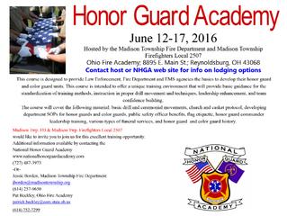 Honor Guard Academy
