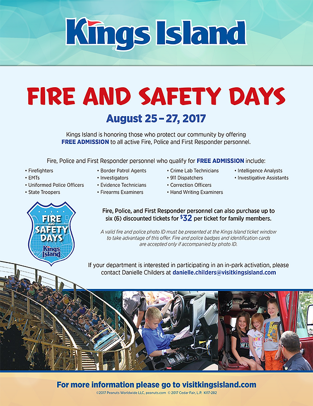 Kings Island Fire & Safety Days