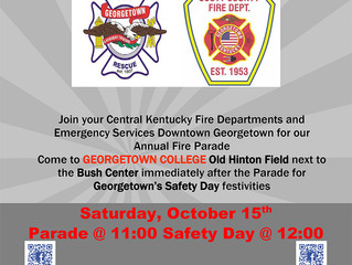 Fire Parade & Safety Day