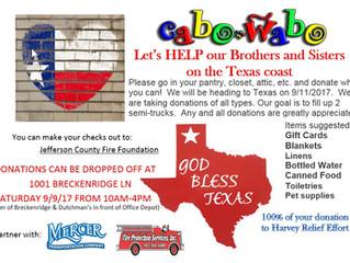 Harvey Relief Effort