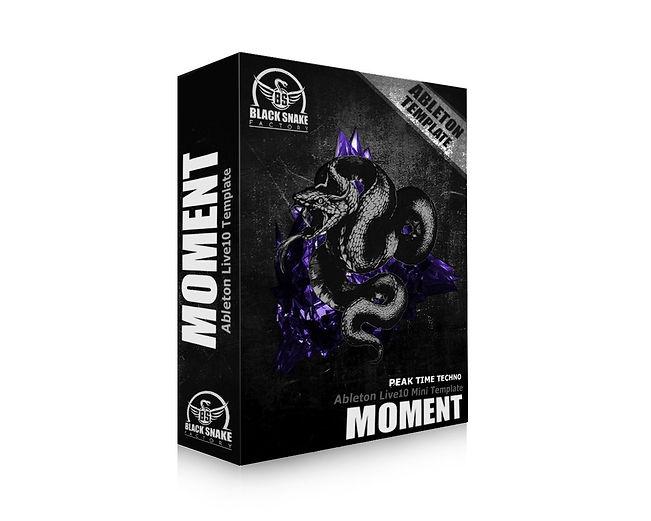 """Ableton Live10 Mini Template """"Moment"""""""