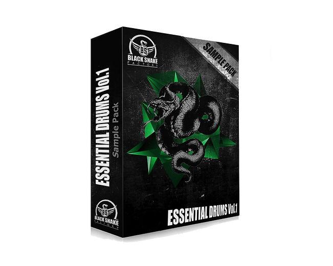 """Sample Pack """"Essential Drums Vol.1"""""""