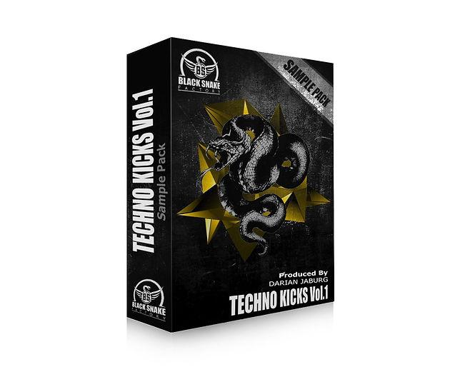 "Sample Pack ""Techno Kicks Vol.1"""