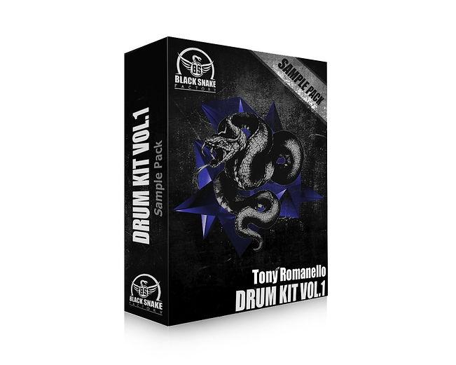 Tony Romanello Drum Kit Vol.1