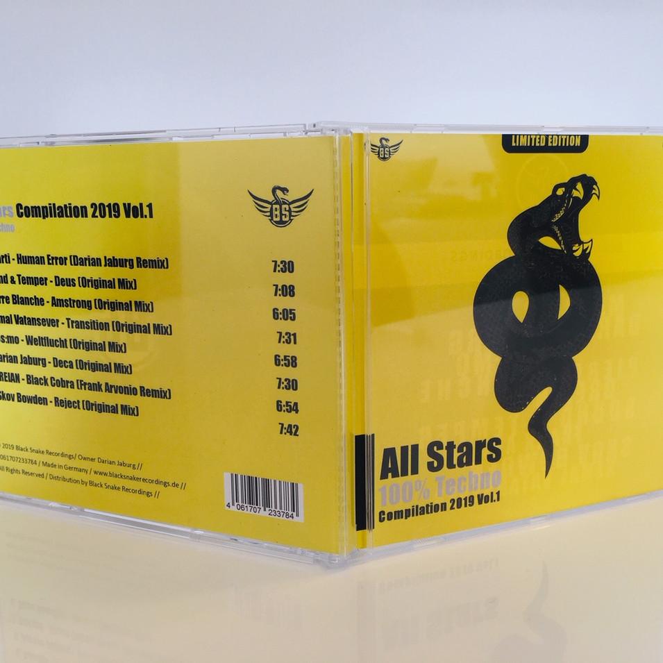 Audio CD All Stars Compilation 2019