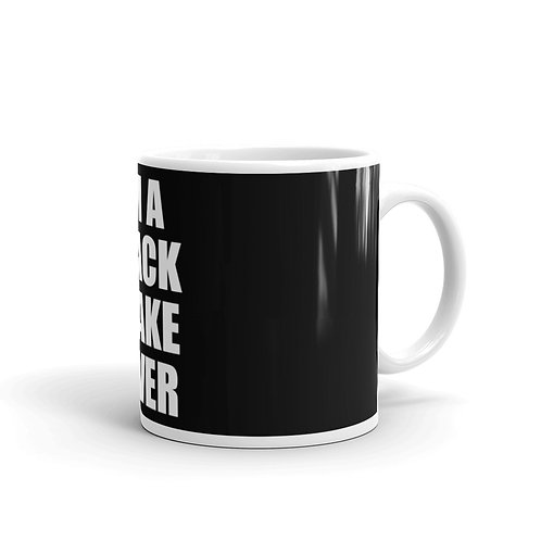 "Cup ""Iam a Black Snake Raver"""