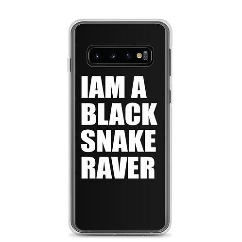 "Samsung Phone case ""Iam a Black Snake Raver"""