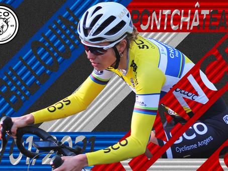 Solenne BILLOUIN (SCO Cyclisme Angers) sélectionnée au Championnat de France de cyclo-cross.
