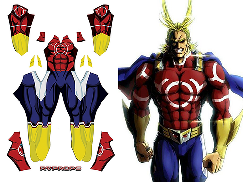 Allmight Silver age