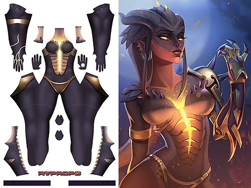 Symmetra Dragon skin