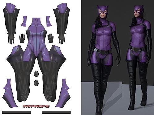 Purple Catwoman