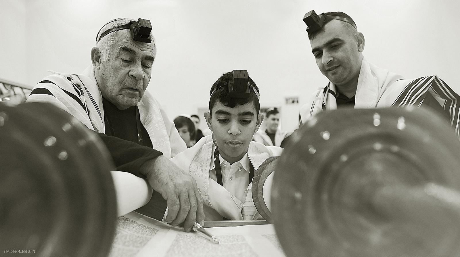 פרד בראונשטיין - צילום בר מצווה