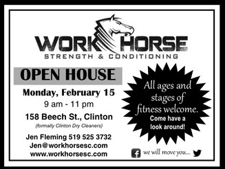 WorkHorse Family Day Open House                       9-11 AM