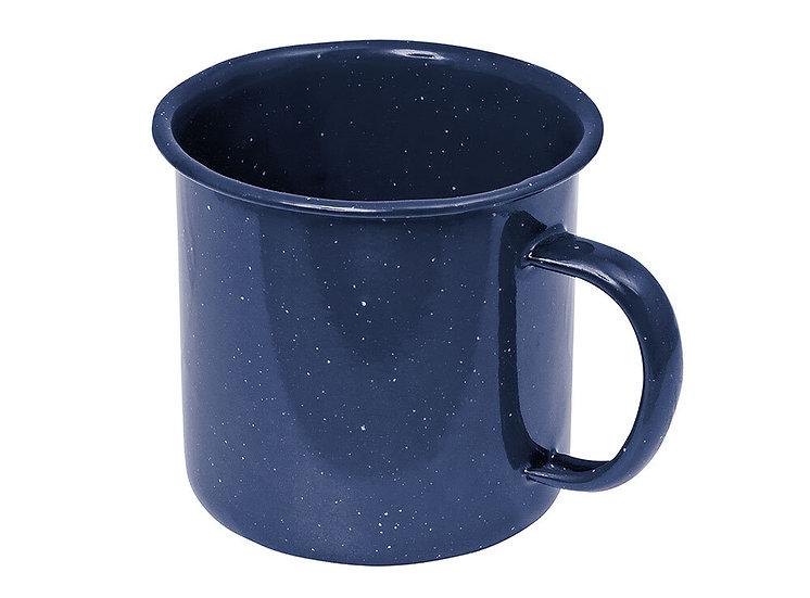 Campfire - Enamel Mug - Blue