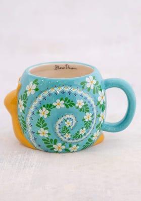 Natural Life - Ceramic Embossed Mug