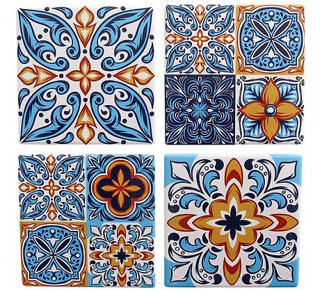 Coasters Santorini Blue