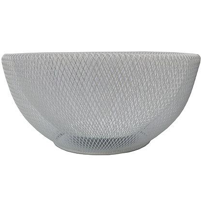 White Mesh Bowl - 30cm