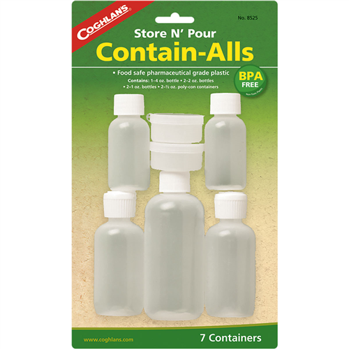 Coghlans - Contain Alls Store and Pour