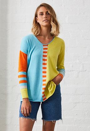 Zacket & Plover Stripe Pullover Zest