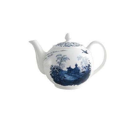 Aynsley Teapot 1L Archive Blue