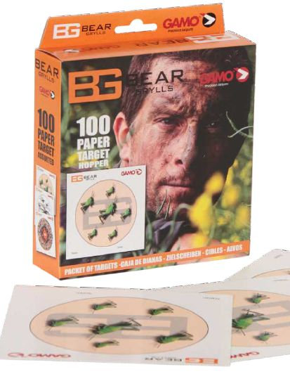 Gamo - Bear Grylls Paper Target Hopper