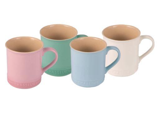 Chasseur Macaron Collection Mug Set 4 Piece
