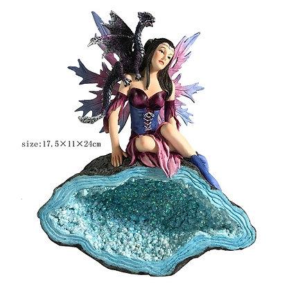 Fairy on Crystal