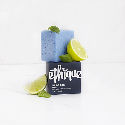 Ethique Tip To Toe Solid Shampoo and Shaving Bar