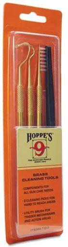 Hoppes Brass Cleaning Picks & Brush Set