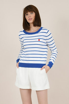 Molly Bracken Striped Jumper