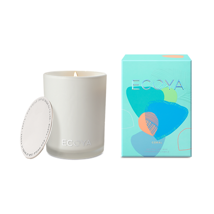 Ecoya Madison Candle Coral Limited Edition