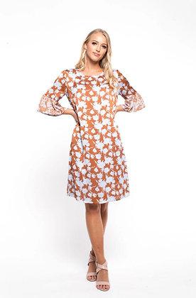 Zafina Ruffle Dress Majito