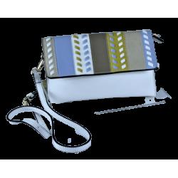 Baron - Leather Collective Fashion Bag - White
