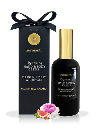 Surmanti  - Hand/Body Cream - Peonies Peppers & Tuberose