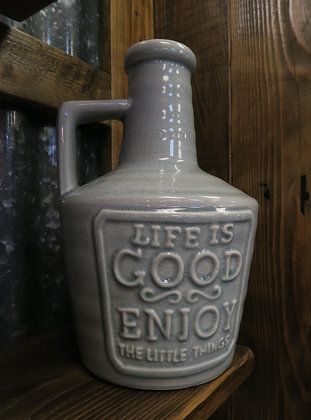 Life is Good - Grey Jug