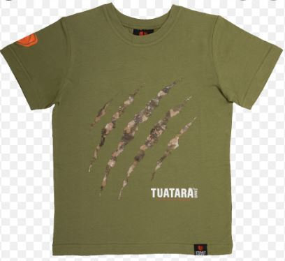 Stoney Creek Kids Hunting Tee - Tuatara