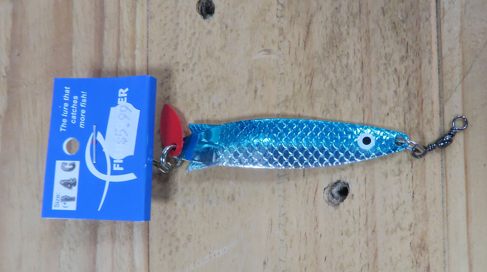 Bernsport Fish Fighter - Toby - Silver Blue