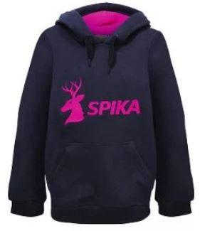 Spika Girls Go Hoodie Black/Pink